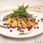 Салат из индейки под соусом Салаты