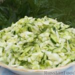 Салат из капусты Заготовки, консервирование