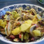 Салат из картофеля и шампиньонов Праздничный стол Салаты
