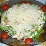 Салат из курицы по-домашнему Салаты