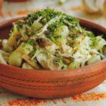 Салат из квашеной капусты Салаты