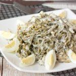 Салат из морской капусты Салаты