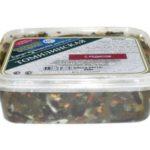 Салат из морской капусты и редиса Японская кухня