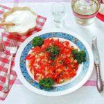 Салат из отварной рыбы с морковью Салаты