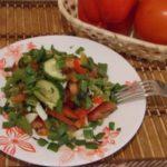 Салат из перца с овощами и фруктами Заготовки, консервирование