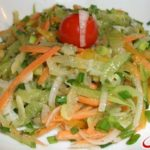 Салат из редьки Узбекская кухня