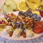 Салат из сухофруктов с вином Салаты