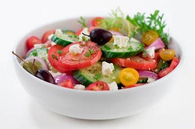 Салат из свежих овощей Овощные блюда Турецкая кухня