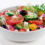 Салат из свежих овощей Салаты