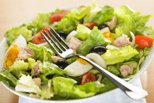 Салат из тунца Закуски Салаты