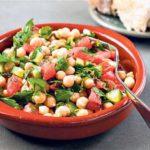 Салат из турецкого гороха Овощные блюда Турецкая кухня