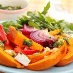 Салат из тыквы Латышская кухня