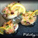 Салат-коктейль из морепродуктов Салаты