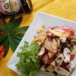 Салат морской с манго Салаты