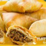 Самбуса бараки (пирожки с мясным фаршем) Выпечка Таджикская кухня