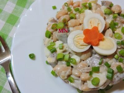 Сельдь с яйцами Украинская кухня