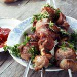 Шашлык из баранины Казахская кухня