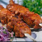 Шашлык из говядины Вторые блюда Шашлыки