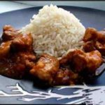 Шашлык из говядины с рисом Грузинская кухня