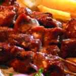 Шашлык из молодой баранины по-охотничьи Азербайджанская кухня