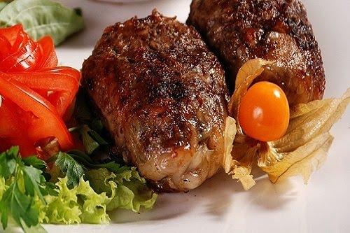 Шашлык из мяса лося по-марийски Вторые блюда Шашлыки