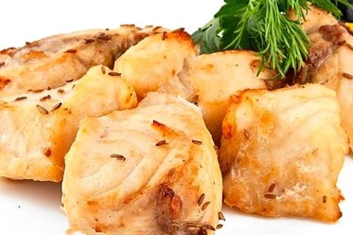 Шашлык из сома Вторые блюда Шашлыки