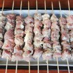 Шашлык из свинины на противне Вторые блюда Шашлыки