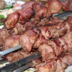 Шашлык из свинины в белом вине Грузинская кухня