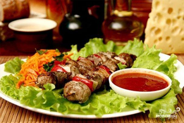 Шашлык по-грузински Вторые блюда Шашлыки