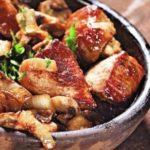Шашлык в кастрюле Вторые блюда Шашлыки