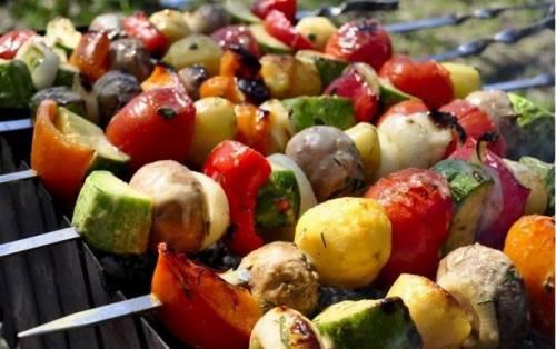 Шашлык вегетарианский Вторые блюда Шашлыки