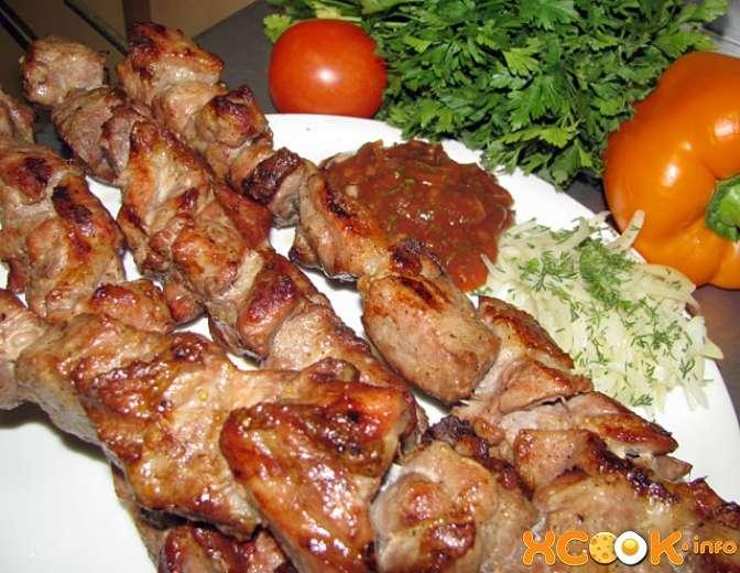 Шашлыки из мяса