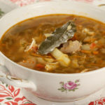 Щи кислые с грибами или гречневой кашей Белорусская кухня