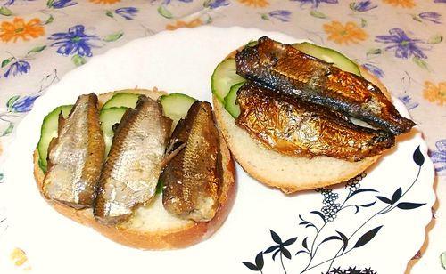 Шпроты из уклейки Рыбацкая кухня