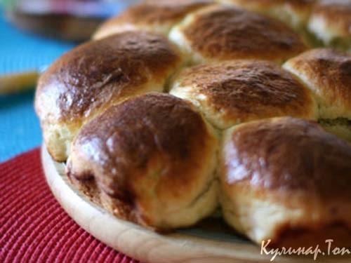 Сладкие булочки с кардамоном Выпечка