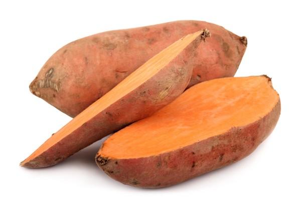 Сладкий картофель Из овощей