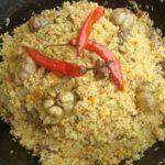 Сладкий среднеазиатский плов Крупяные блюда Турецкая кухня