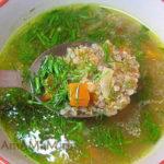 Сладкий суп из пшеничной крупы Армянская кухня