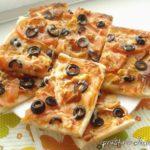Слоёное тесто для пиццы Пицца