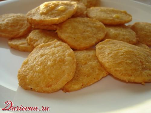 Соленое печенье с паприкой