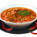 Солянка Казахская кухня Супы