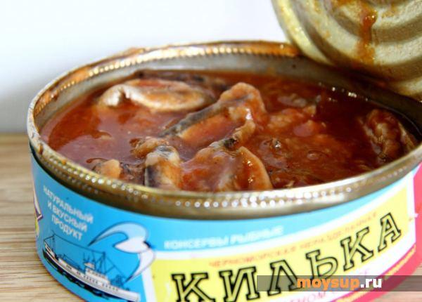 Соус из кильки Русская кухня Соусы