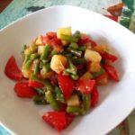 Стручки фасоли с помидорами Закуски