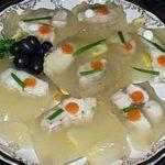 Студень рыбный Французская кухня