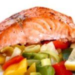 Судак отварной с овощным гарниром Рыбацкая кухня