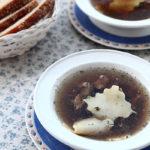 Суду хингал (суп с лапшой) Азербайджанская кухня