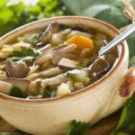 Сунки апур (суп гривной с рисом) Армянская кухня