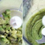 Суп из авокадо с гренками Супы