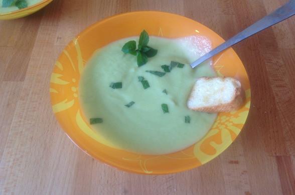 Суп из цукини с молоком Супы