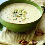 Суп из орехов с голубым сыром стилтон Супы